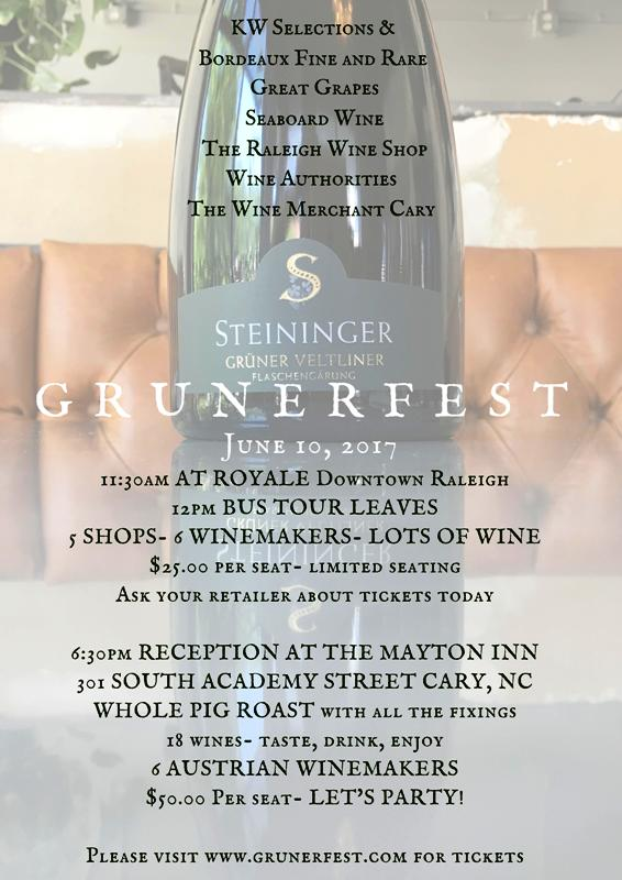 Tasting Events at Seaboard Wine Warehouse